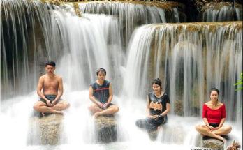 HUAY MAE KHAMIN WATERFALL (น้ำตกห้วยแม่ขมิ้น), Kanchanaburi