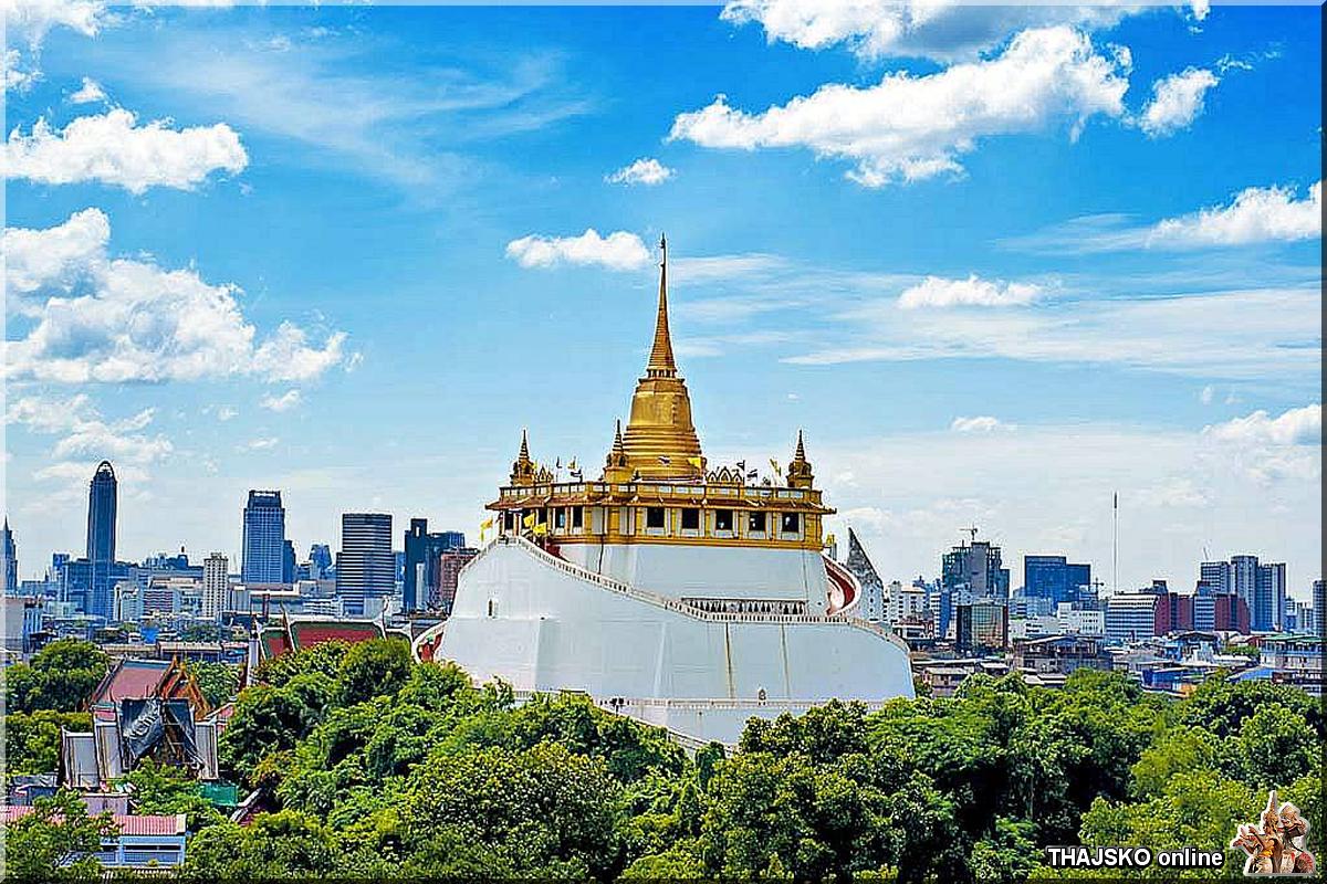 WAT SAKET (วัดสระเกศราชวรมหาวิหาร), Bangkok
