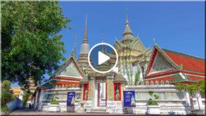 WAT PHO, BANGKOK (วัด โพธิ์) – CHRÁM LEŽÍCÍHO BUDDHY