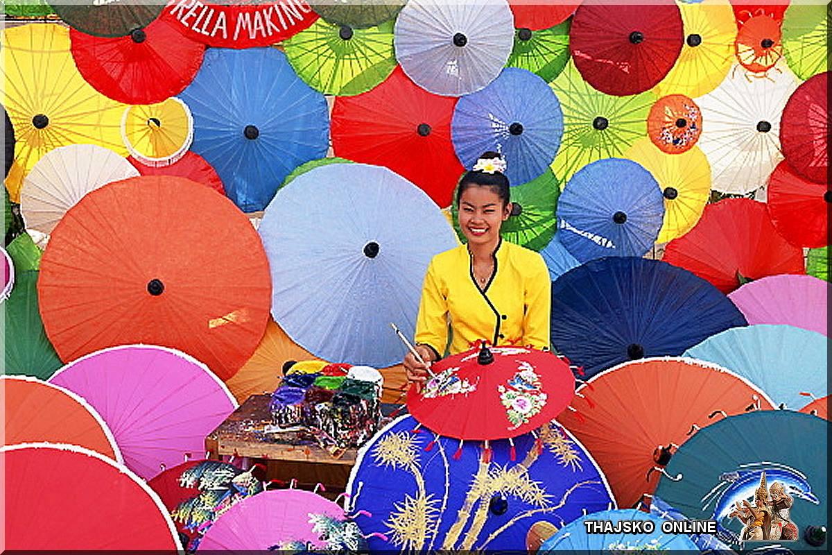 SLUNEČNÍKY Z BO SANG (บ่อสร้าง), Chiang Mai