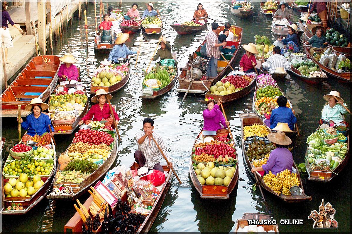 DAMNOEN SADUAK (ดำเนินสะดวก), Ratchaburi