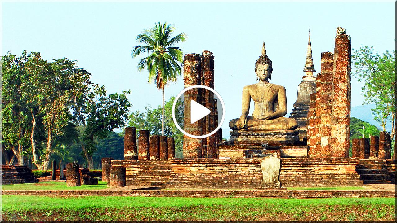 SUKHOTHAI (สุโขทัย) - PRVNÍ HLAVNÍ MĚSTO THAJSKA
