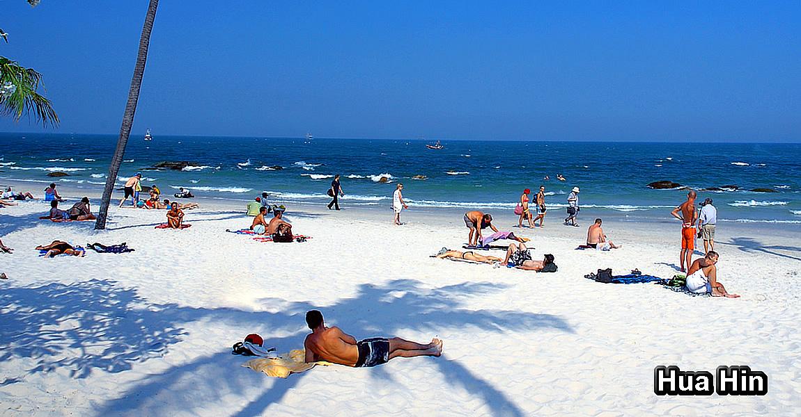 HUA HIN (หัวหิน) - pláže