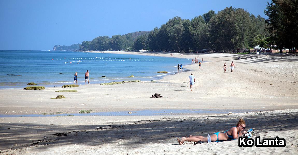 KO LANTA (เกาะลันตา) - pláže