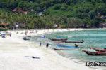 KO PHANGAN (เกาะพะงัน), pláže