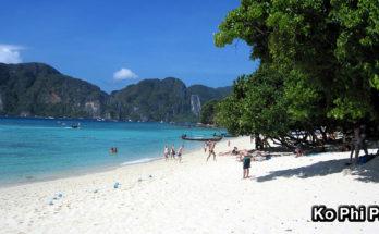 KO PHI PHI (หมู่เกาะพีพี) - pláže