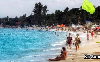 KO SAMUI (เกาะสมุย) - pláže