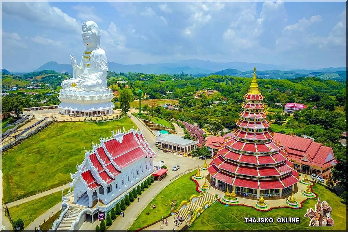 WAT HUAY PLA KANG (วัดห้วยปลากั้ง), Chiang Rai