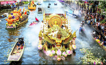 YON BUA FESTIVAL (บัว โยน บัว บางพลี), Samut Prakan