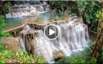 HUAI MAE KHAMIN WATERFALL (น้ำตกห้วยแม่ขมิ้น), Kanchanaburi