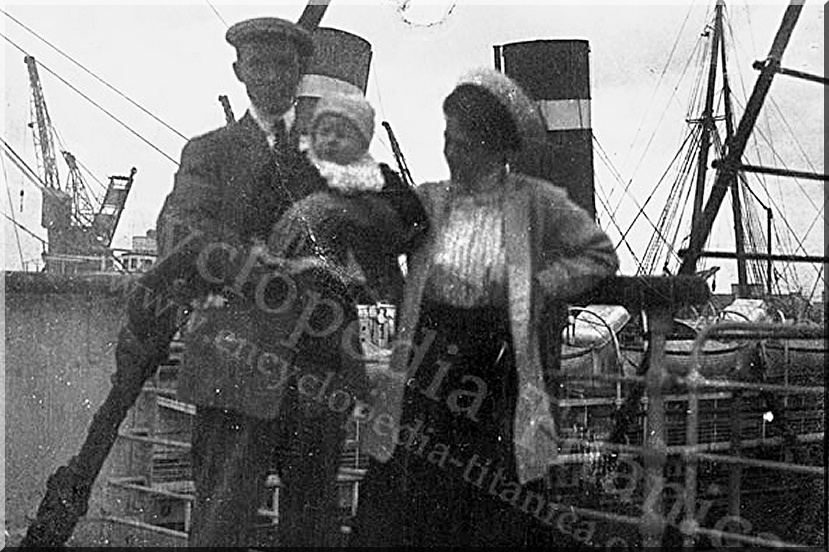 "ALDEN CALDWELL - ""Thajec"" na palubě Titanicu"